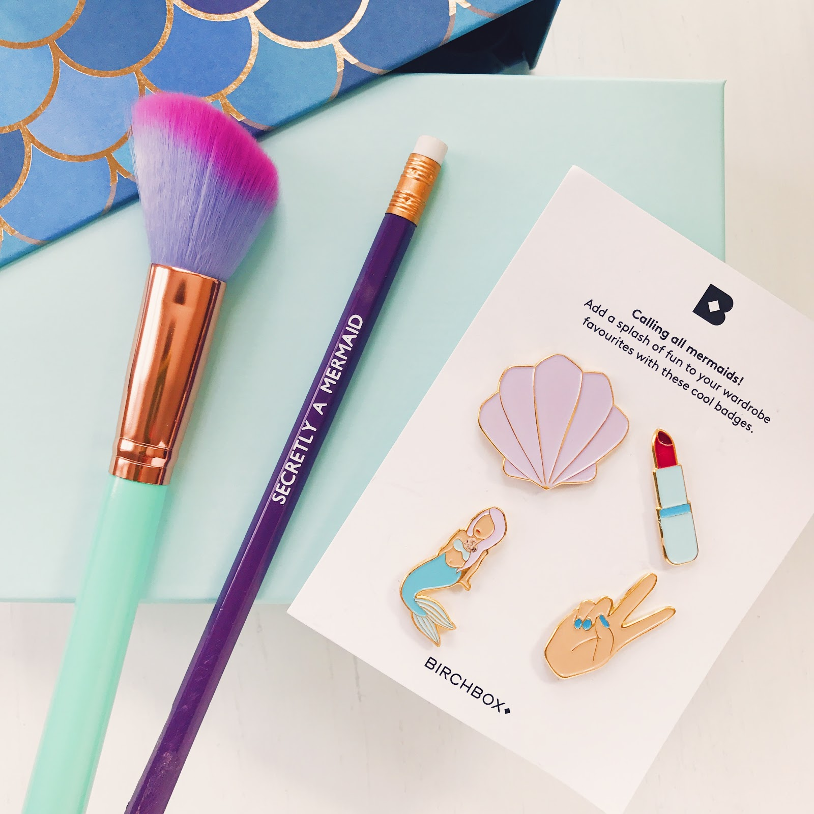 Birchbox August 2017 | Mermaid Vibes