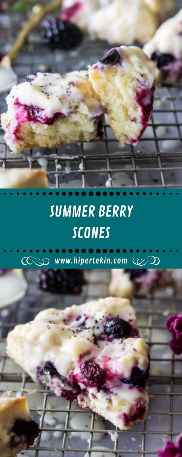 SUMMER BERRY SCONES