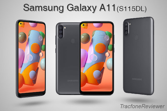 Tracfone S115DL Samsung Galaxy A11 specs