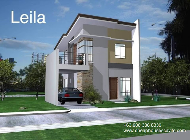 Leila at Riverlane Trail Single Attached - Pag-ibig Cheap Houses for sale in Cavite