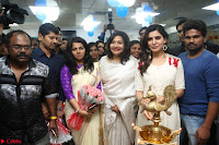 Samantha Ruth Prabhu Smiling Beauty in White Dress Launches VCare Clinic 15 June 2017 027.JPG