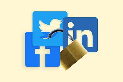 Fb, Twitter and LinkedIn