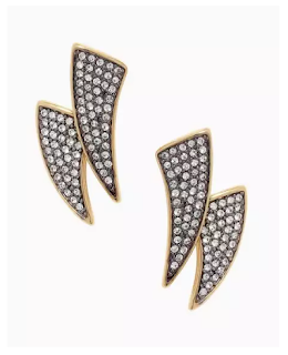 Stella & Dot Pave Horn Ear Jackets as seen on How To Get Away With Murder www.stelladot.com/wcfields