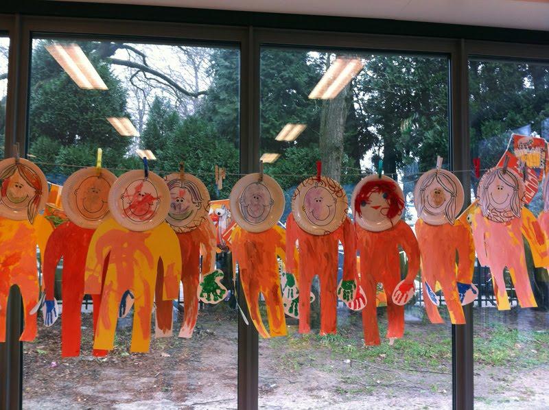Neues aus Eindhoven Basteln im Kindergarten