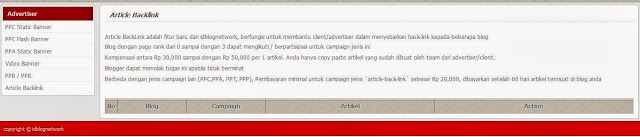 Article Backlink, Campaign Baru IdBlogNetwork