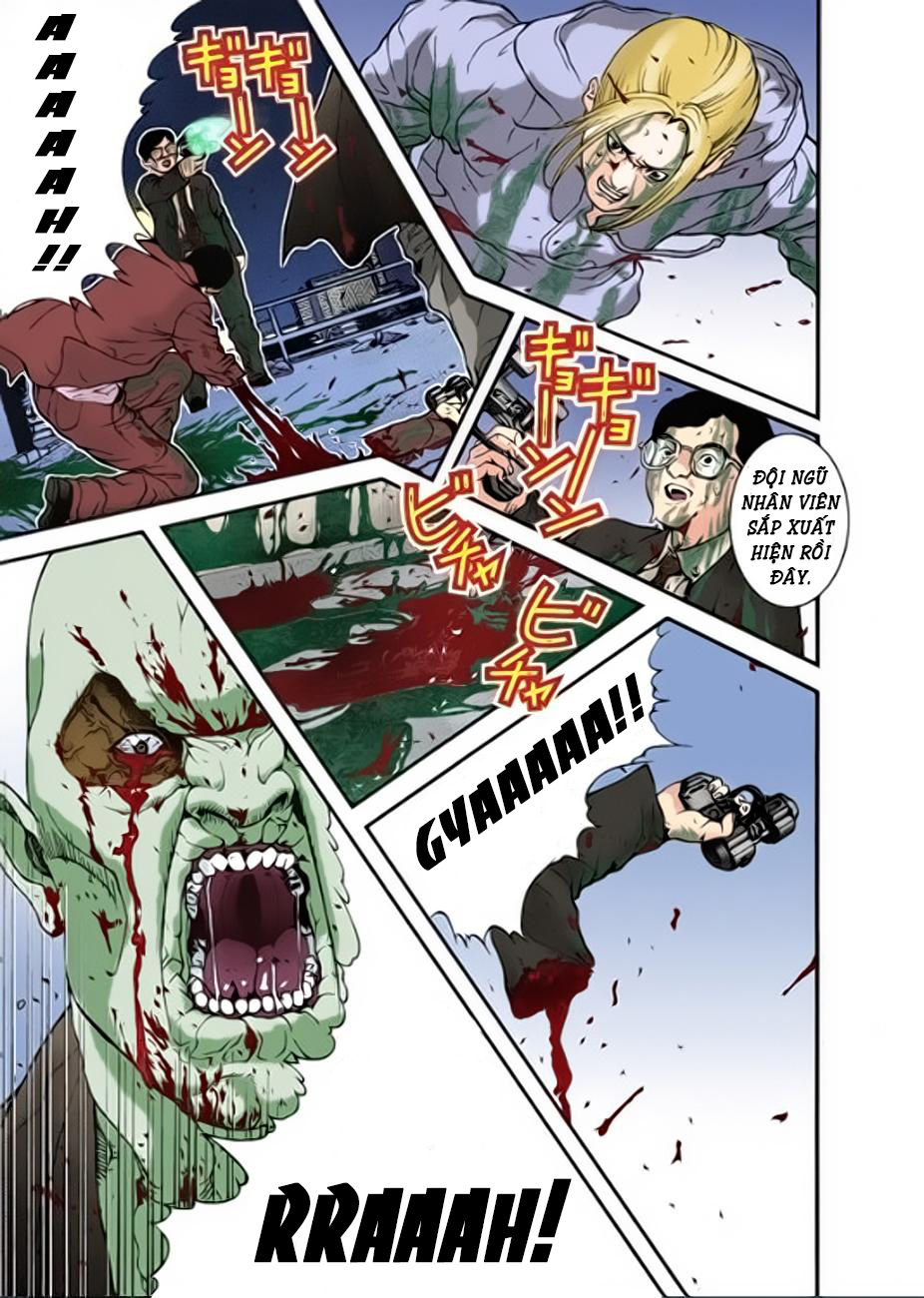 Gantz Chap 11: Tất cả đều chết trang 13