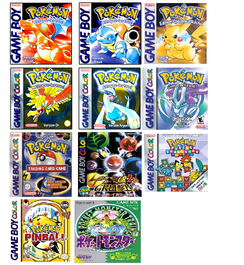 Gameboy Emulator Games Pokemon: full version free software