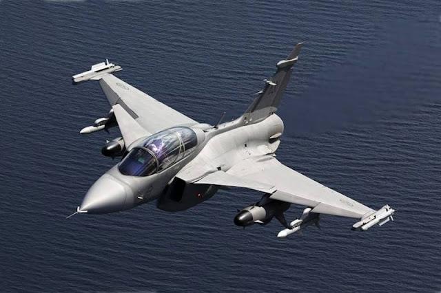 Sweden Gripen pilot training