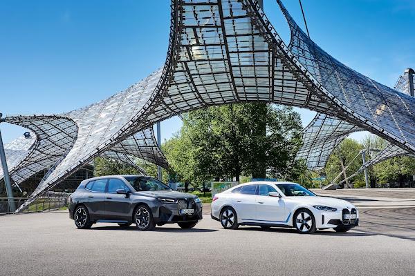 BMW confirma elétricos i4 e iX para o Brasil - fotos e detalhes