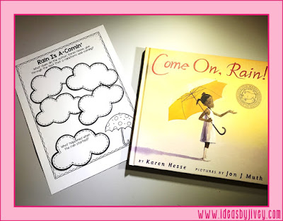 Ideas by Jivey shares multiple ways to use the mentor text, Come On, Rain! to integrate reading, writing, grammar, and science. Pick up a couple freebies and get some tips and lesson ideas, too!