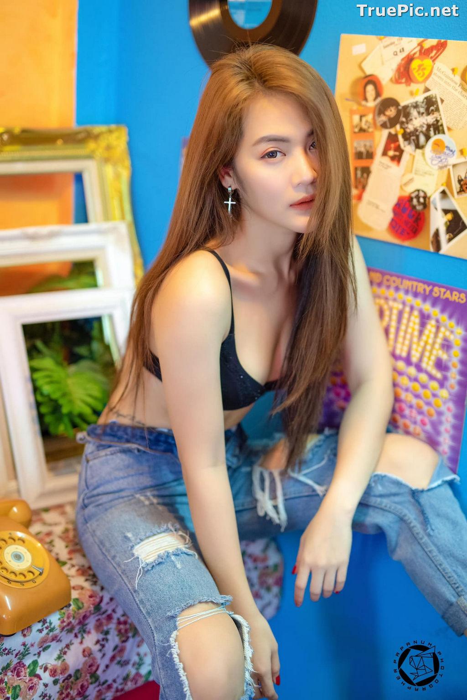 Image Thailand Model - Maple Rattika Fakkeaw - Black Bra and Jean Tonight - TruePic.net - Picture-7