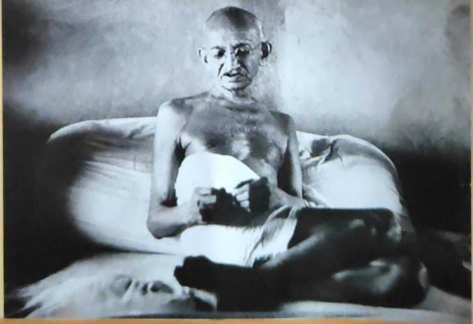 Mahatma Gandhi the Father of Nation India or Gandhi Jayanti