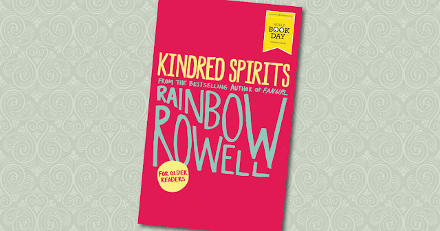 Kindred Spirits Rainbow Rowell Cover