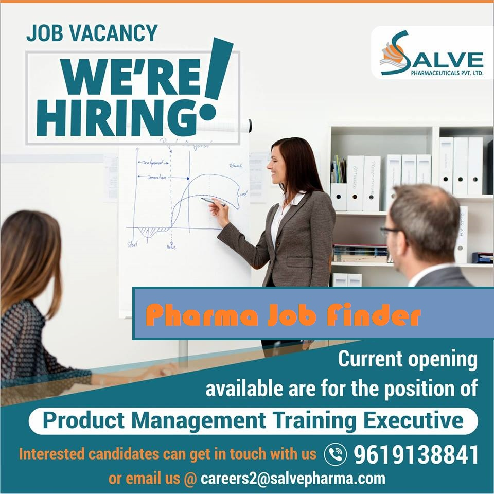 Salve Pharmaceuticals Product Management Training Executive