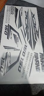 Custom Decal PCX Terbaru | Percetakan Tanjungbalai