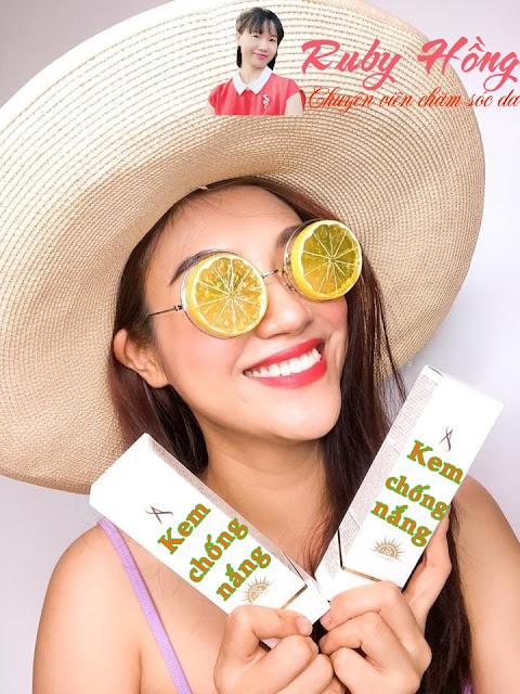Dùng kem chống nắng da mặt có tốt không?