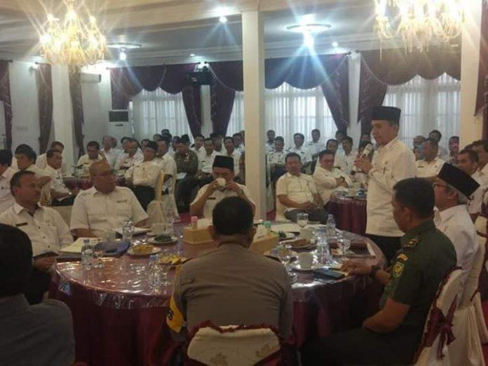 Persiapan TDS dan Festival Kerinci, Adirozal Pimpin Rapat Terpadu