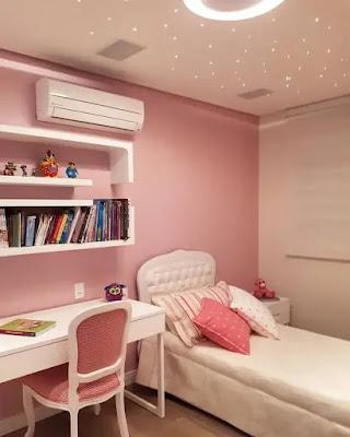 اجمل ديكورات غرف نوم بنات عصرية حديثة 2021