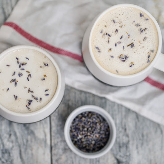 Lavender London Fog Earl Grey Latte
