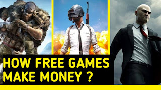 How PUBG makes money or How free makes game money ?