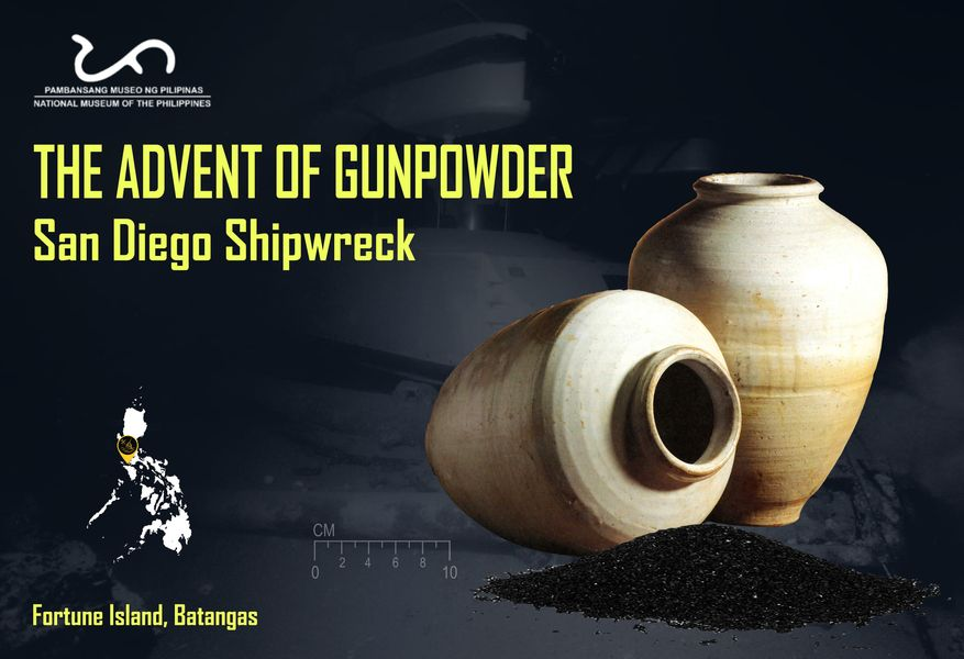 Gunpowder Jars san Diego shipwreck