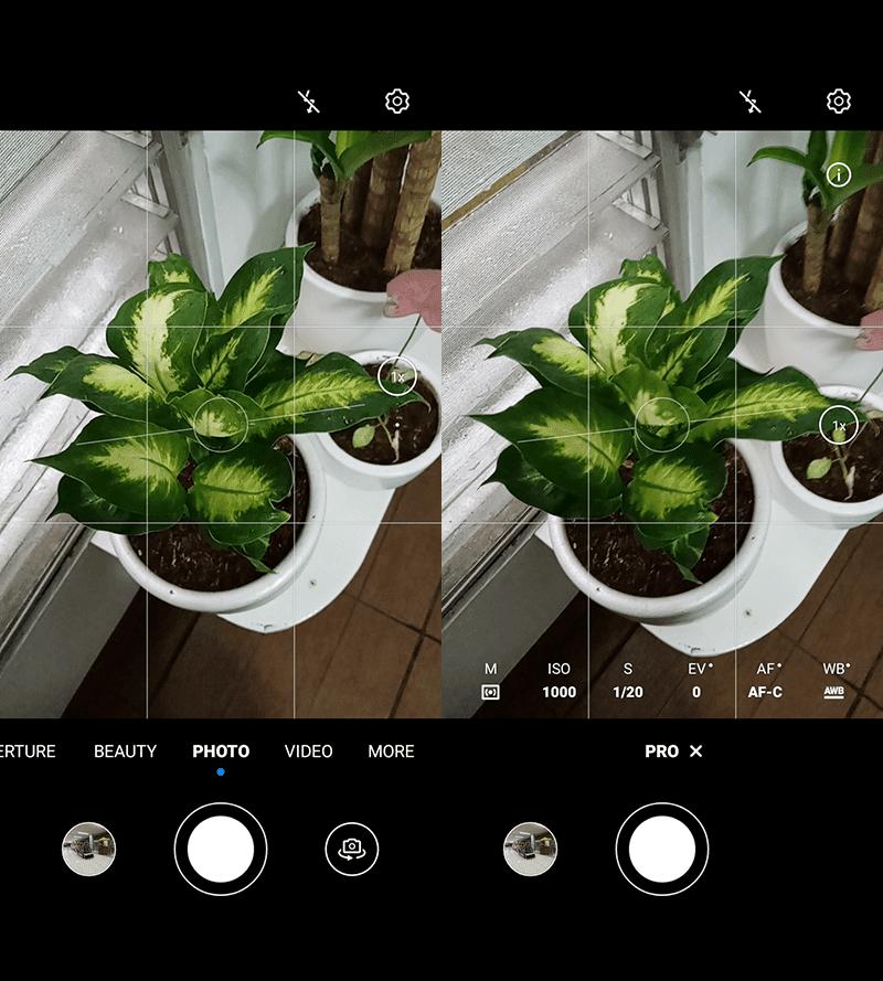 EMUI 10 camera interface on budget phones