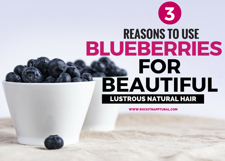 Blueberries for hair