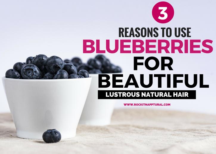 Blueberries for hair