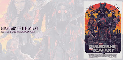 Guardians of the Galaxy Foil Variant Screen Print by Gabz x Grey Matter Art