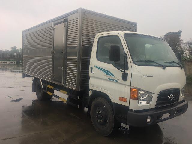 Hyundai 110sp thùng kín đời 2021