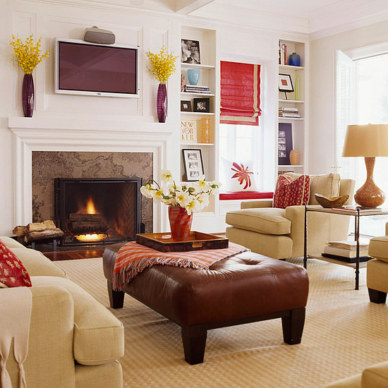 Home Decor Walls: Fresh Living Rooms Decorating Ideas 2011