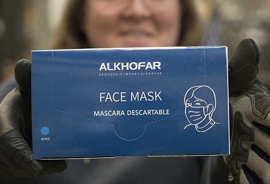 Intel Coronavirus Mask Donation