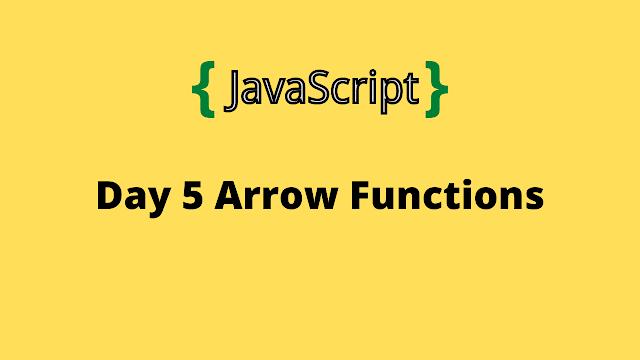 HackerRank Day 5: Arrow Functions 10 days of javascript solution