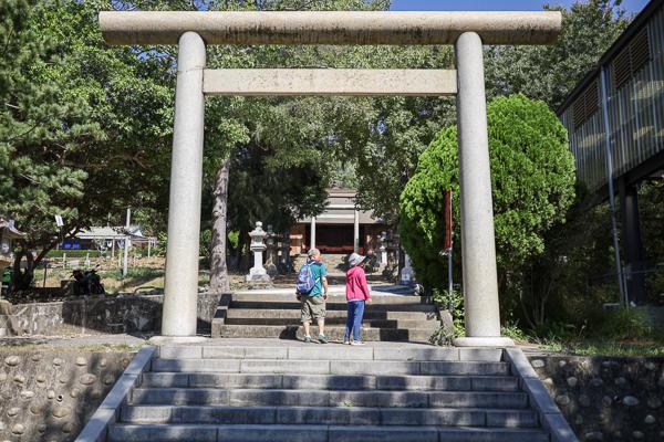 苗栗通霄神社歷史建築,日式神社鳥居好好拍,順遊虎頭山公園