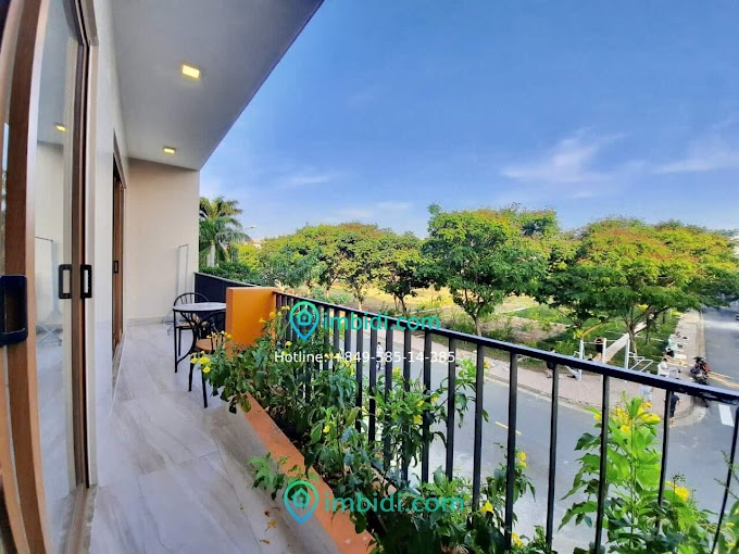 1 bedroom 50m2 balcony swimming pool, sauna, park in An Phu - 11mil/month