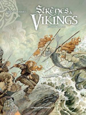 Sirènes & Vikings tome 2 - Ecume de nacre