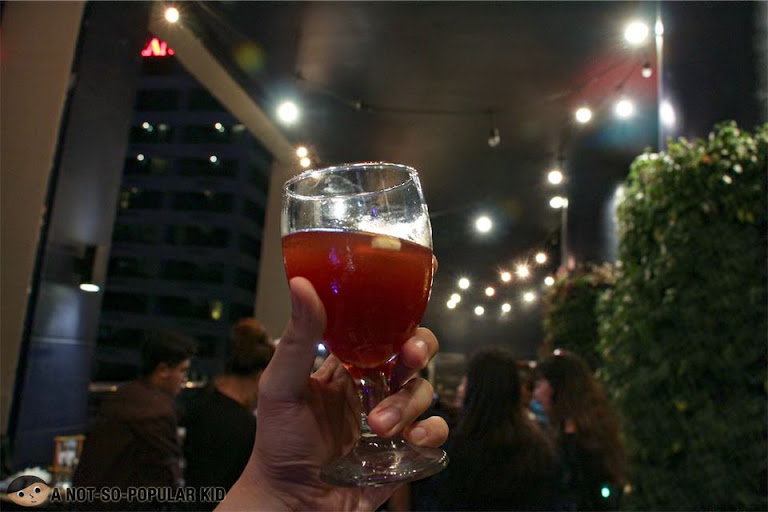 Unlimited Sangria in Encima Roofdeck Restaurant