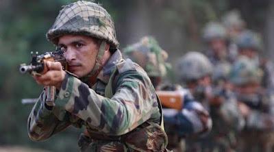 जम्मू कश्मीर के पूँछ दसिट्रिक्ट मैं आतंकी फायरिंग
