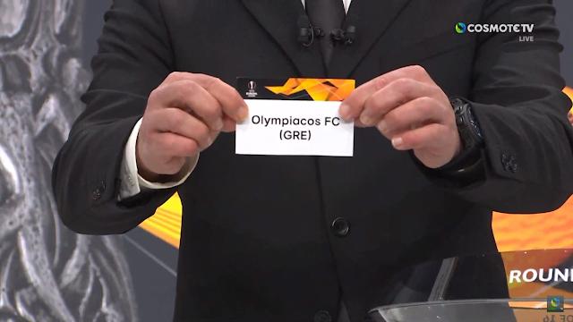 Η Κλήρωση του Ολυμπιακού για τους 16' του Europa League
