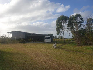 freedom camping, rural Queensland