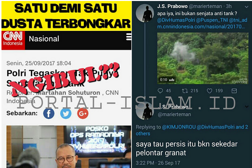 Jend. Suryo Prabowo BONGKAR DUSTA Polisi yang Ngaku Tak Punya Senjata Anti Tank