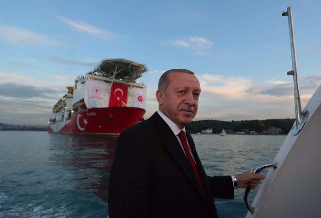 """Ερντογάν: «Στέλνω και το """"Γιαβούζ"""" στη Μεσόγειο»"""