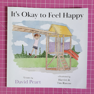 It's okay to feel happy review childrens bereavement book cover