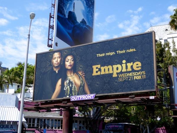Empire season 3 Fox billboard