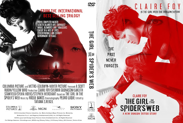he Girl in the Spider's Web DVD Cover