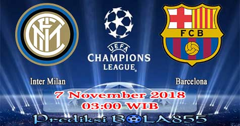 Prediksi Bola855 Inter Milan vs Barcelona 7 November 2018