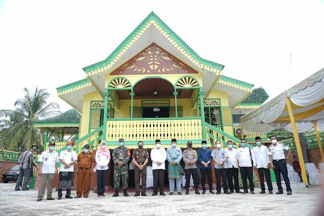 Walikota Bersama Kajari dan Unsur Forkopimda Tebing Tinggi  Resmikan Rumah Adat Melayu dan Pelatihan Tenun