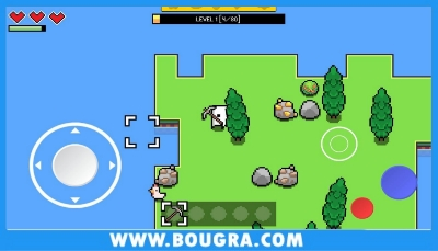 تحميل لعبة forager للاندرويد بحجم صغير