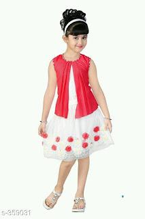 Girl's Skirt & Top Set