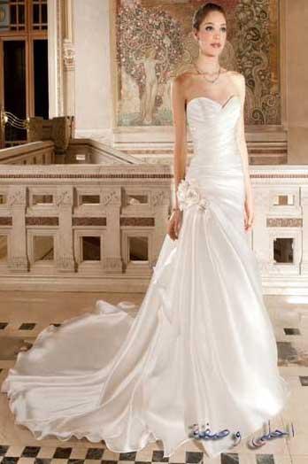 اروع فساتين اعراس جديدة 2020 ، موديلات جديدة من فساتين الاعراس لاناقتك سيدتي